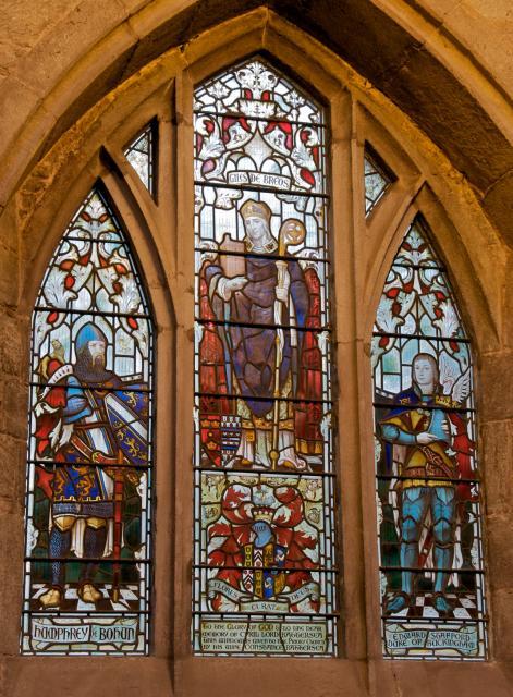 Giles de Breos with Humphrey de Bohun and Edward Stafford