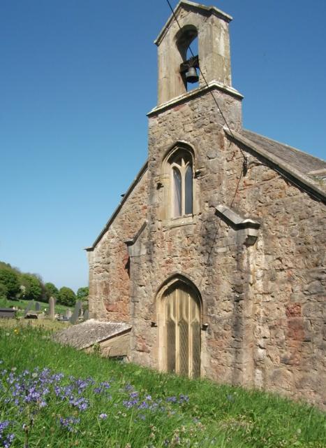 Church of St Cystenin, Llangystennin, Conwy new 064.JPG Photo © Lynne Davis