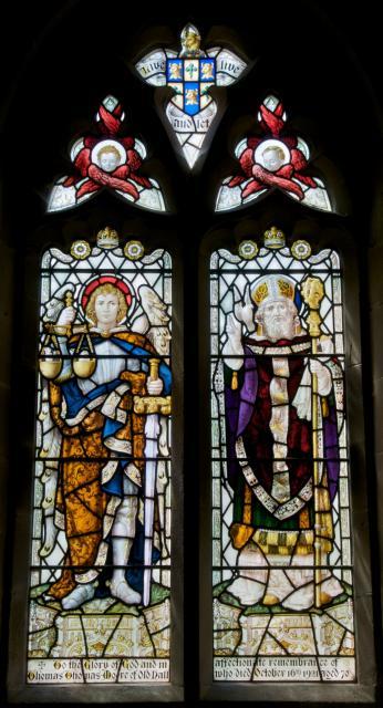 St Michael and St David