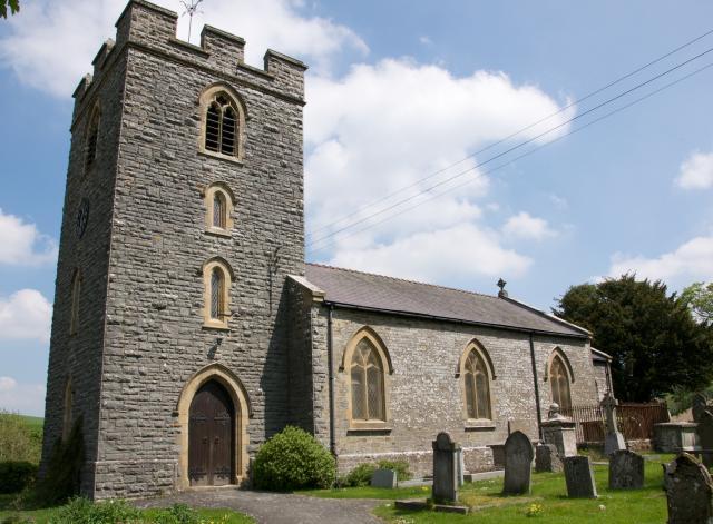 Church of St Michael, Llanfihangel Rhydithon, Powys LlanfRhydithon_DSC6083.jpg Photo © Martin Crampin