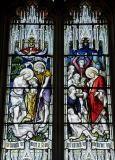 The Baptism of Christ and Christ Healing the Sick: Scenes from the Life of Christ and St Stephen