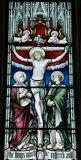 The Crucifixion with the Virgin Mary and St John: Scenes from the Life of Christ and St Stephen