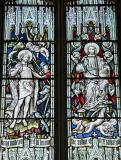 The Resurrection and Christ in Majesty: Scenes from the Life of Christ and St Stephen