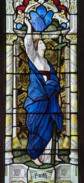Faith    detail from    Faith, Hope and Charity
