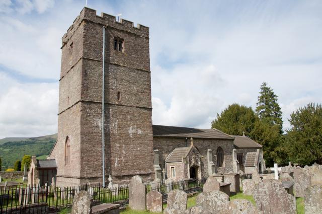 Church of St Catwg, Llangattock, Powys Llangattock_DSC3032A.jpg Photo © Martin Crampin