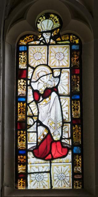 Female Saint    detail from    East Window