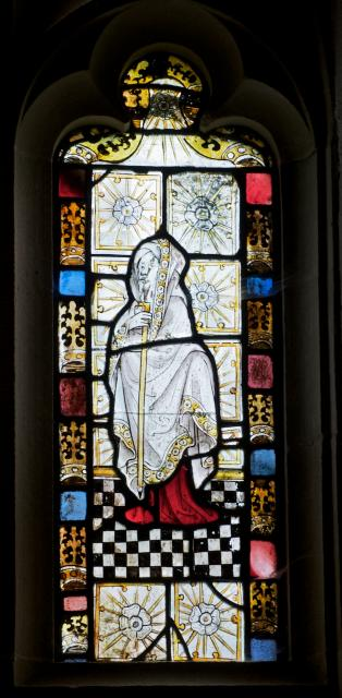 Standing Figure    detail from    East Window