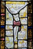 The Crucifixion with Angels: East Window