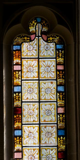 Decorative Quarries    detail from    East Window