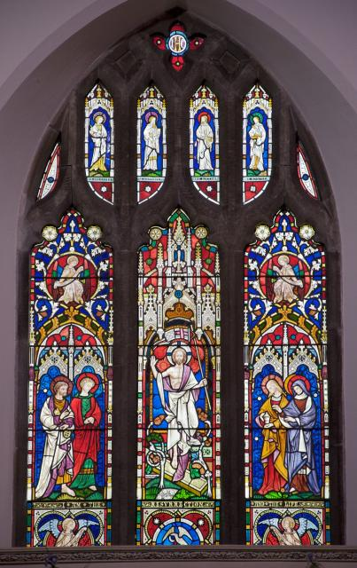 The Risen Christ with Saints