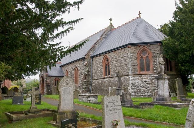 Church of St Llyr, Llanyre, Powys _DSC9452.jpg Photo © Martin Crampin