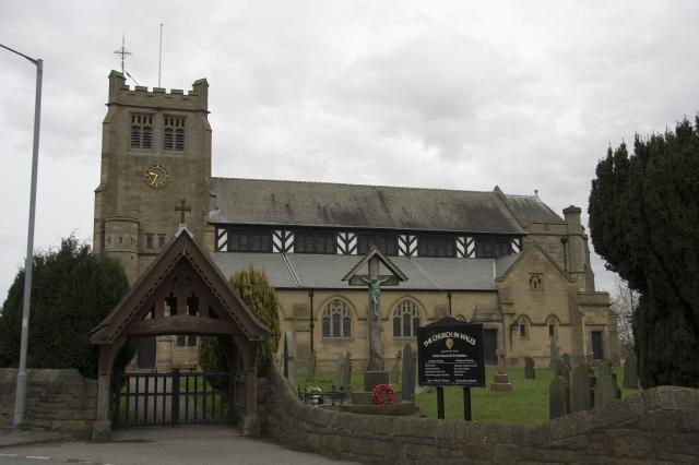 Church of St Matthew, Buckley, Flintshire _MG_1116.jpg Photo © Martin Crampin, Imaging the Bible in Wales