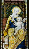 Virgin and Child with St John the Baptist: The Adoration of the Magi