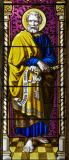 St Peter: Christ the Good Shepherd with St Peter and St John