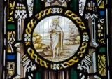 St John the Baptist: Christ the Good Shepherd with Isaiah and St Paul