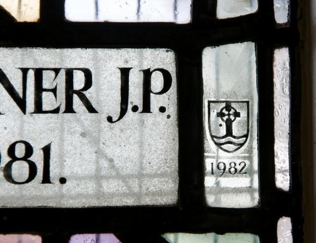 Signature    from    Memorial Window