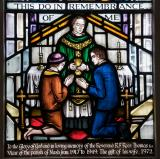Holy Communion: Christ with St John the Baptist and St John the Apostle