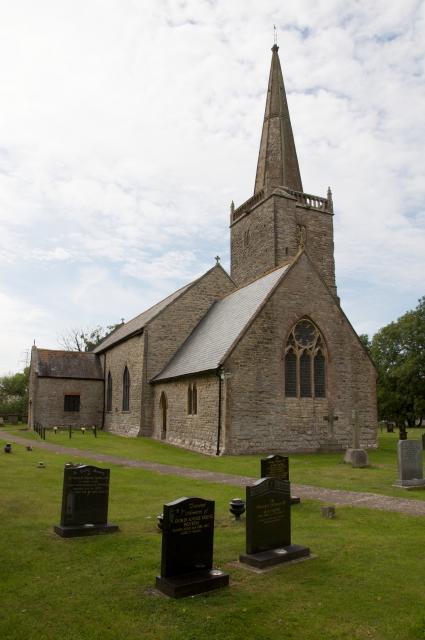 Church of St Mary, Nash, Newport Nash_DSC6712A.jpg Photo © Martin Crampin