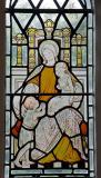 Female Saint with Children