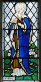 The Virgin Mary: Christ the Light of the World with the Virgin Mary and St Peter