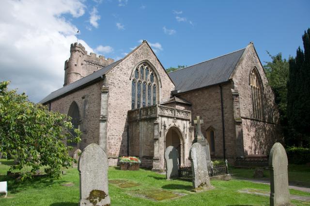 Church of St Mary, Usk, Monmouthshire Usk_DSC1529.jpg Photo © Martin Crampin