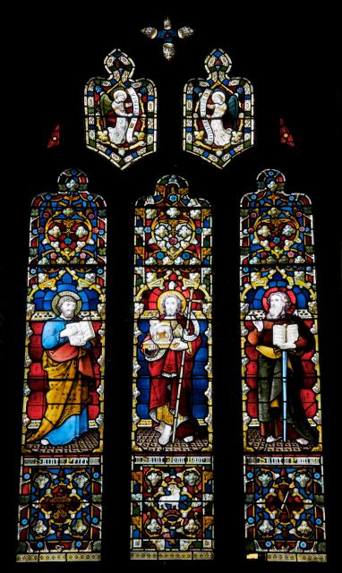 St John the Baptist with St Peter and St Paul