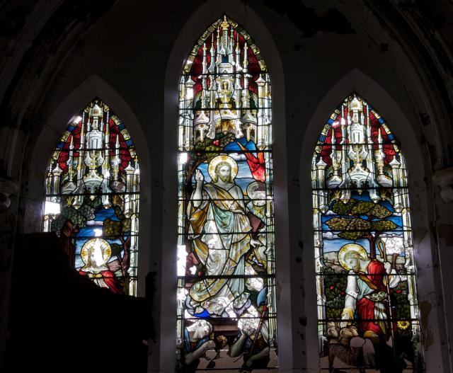 The Risen Christ, Christ the Light of the World and Christ the Good Shepherd