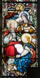 Christ in the House of Mary and Martha: Christ with Mary and Martha and Christ with Children