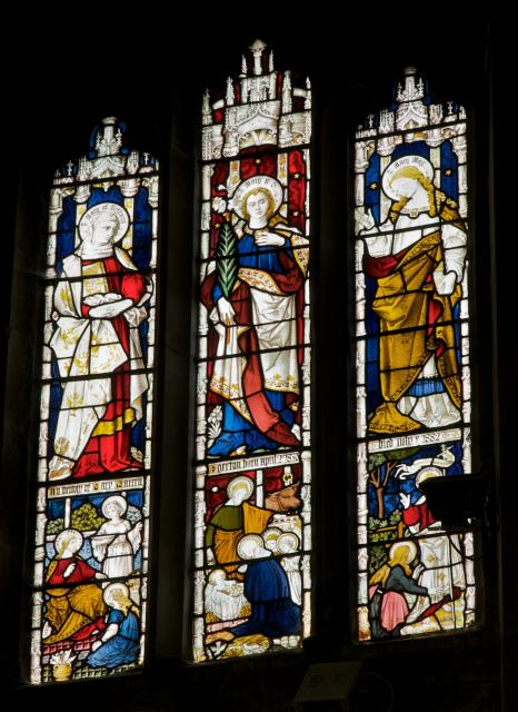 The Virgin Mary with St Mary of Bethany and St Mary Magdalene
