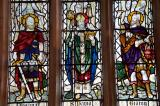 St David with Joshua and Gideon