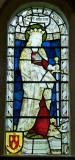 St Catherine: St Luke with St Catherine and St Hugh of Lincoln