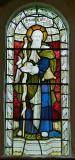 St Luke: St Luke with St Catherine and St Hugh of Lincoln
