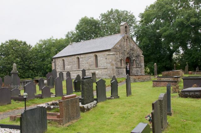 Church of St Ffinan, Llanffinan, Anglesey Llanffinan_DSC5610Ae.jpg Photo © Martin Crampin