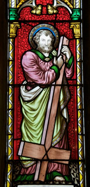 St Peter    detail from    Christ with St Peter and St Paul