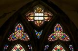 Tracery Lights: The Risen Christ with Moses