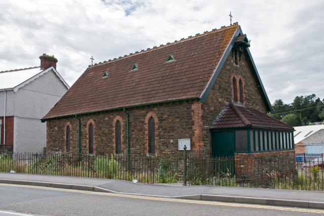 Furnace Mission Church, Furnace, Llanelli, Carmarthenshire Furnace_DSC5536A.jpg Photo © Martin Crampin