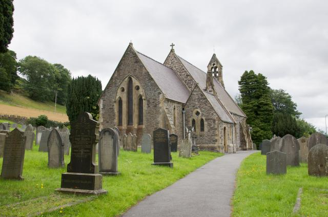 Church of St Thomas, Glyndyfrdwy, Denbighshire Glyndyfrdwy_DSC8399.jpg Photo © Martin Crampin