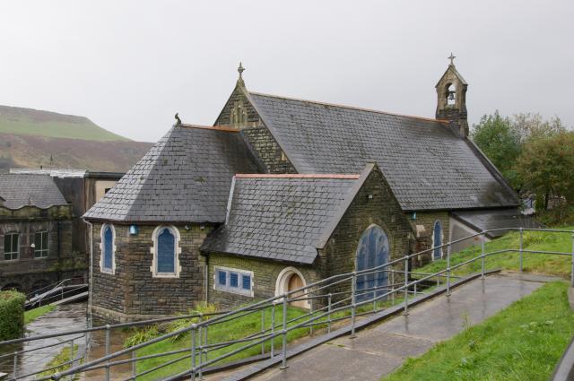 Church of the Holy Trinity, Tylorstown, Rhondda Cynon Taff Tylorstown_DSC8487A.jpg Photo © Martin Crampin