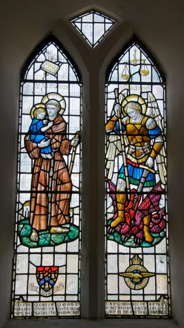 St Anthony and St Michael