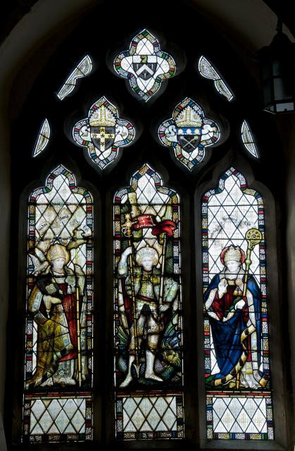 St Michael with St David and St Senan