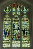 The Crucifixion with St Teilo and St David