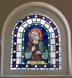 St Peter    from    Narthex Windows