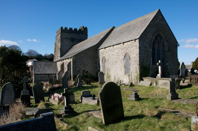 Church of St Illtyd, St Gwynno and St Dyfodwg, Llantrisant, Rhondda Cynon Taff Llantrisant_DSC4182A.jpg Photo © Martin Crampin