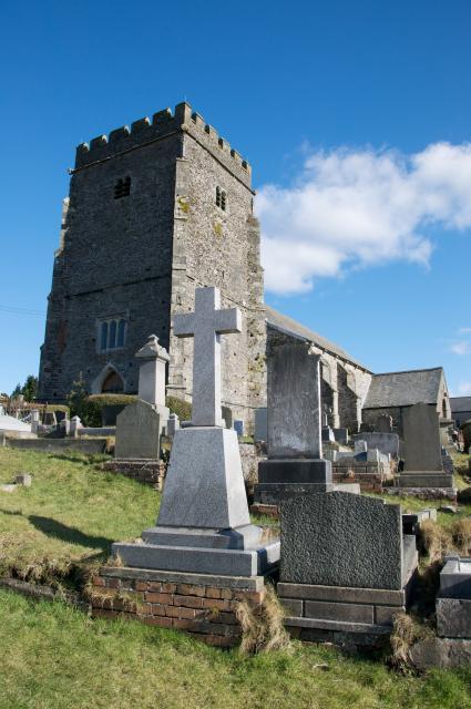 Church of St Illtyd, St Gwynno and St Dyfodwg, Llantrisant, Rhondda Cynon Taff Llantrisant_DSC4144A.jpg Photo © Martin Crampin