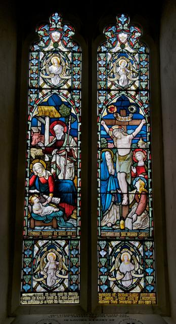 The Nativity and the Crucifixion