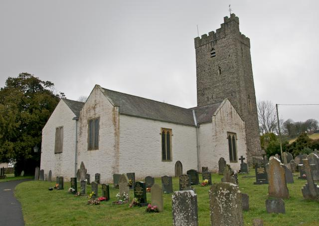 Church of St Stephen, Llansteffan, Carmarthenshire Llansteffan_DSC5119.jpg Photo © Martin Crampin