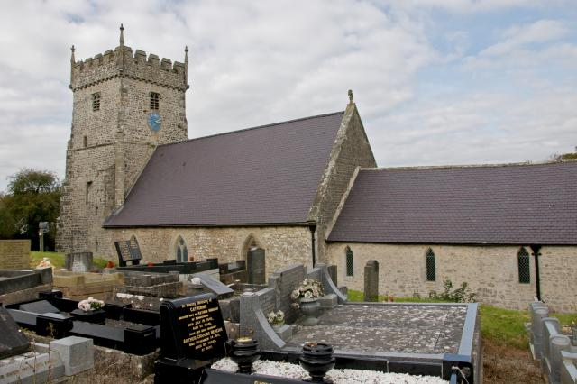Church of St Bridget, St Brides Major, Bridgend StBrides_DSC2695.jpg Photo © Martin Crampin