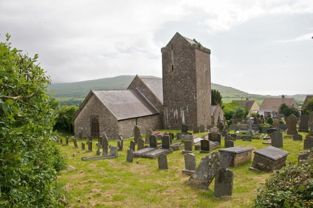 Church of St Cennydd, Llangennith, Swansea Llangennith_DSC7253.jpg Photo © Martin Crampin