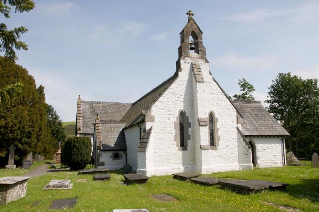 Church of St Digain, Llangernyw, Conwy Llangernyw_DSC3620A.jpg Photo © Martin Crampin