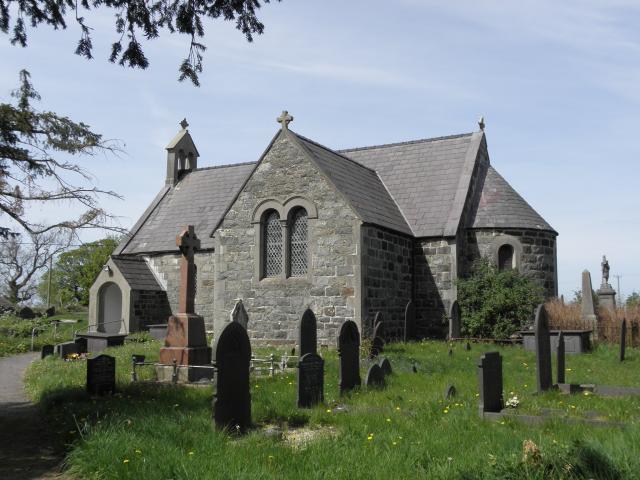 Church of St Gwyndaf, Llanwnda, Gwynedd Llanwnda_P4250827.JPG Photo © Peter Jones